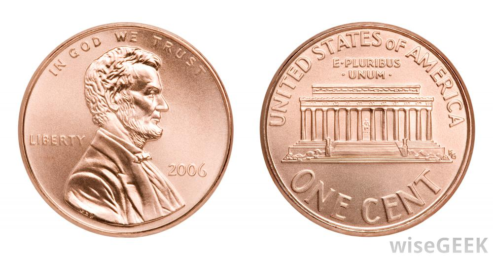 Penny Clipart Front And Back.