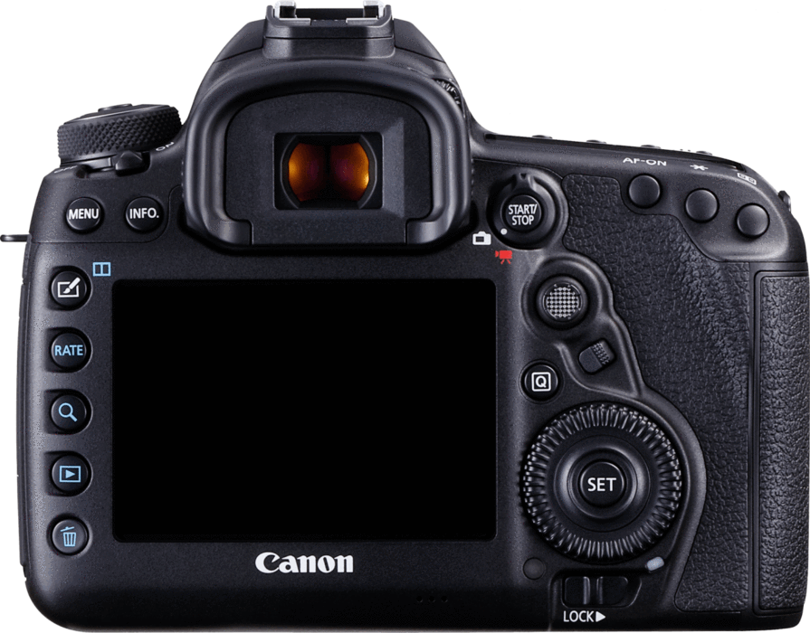 Canon EOS 5D Mark IV DSLR Camera Body.