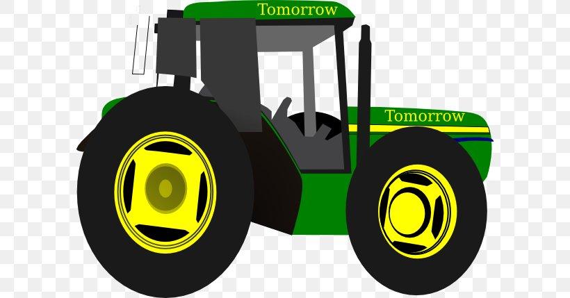 Tractor John Deere Clip Art, PNG, 600x429px, Tractor.