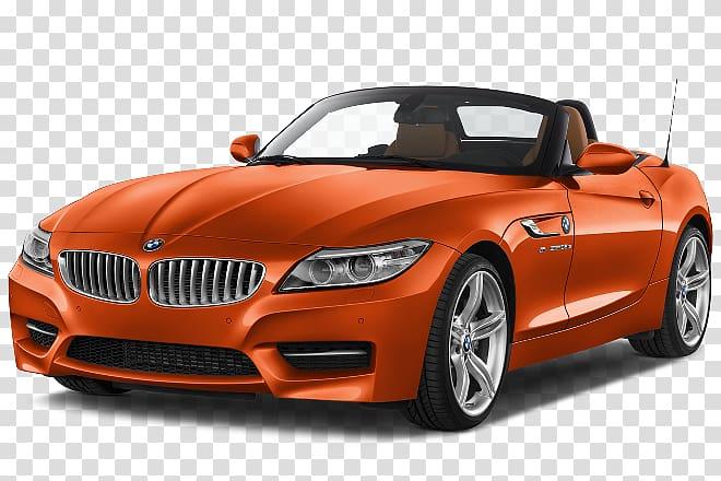 BMW Z4 Car, Car rear transparent background PNG clipart.