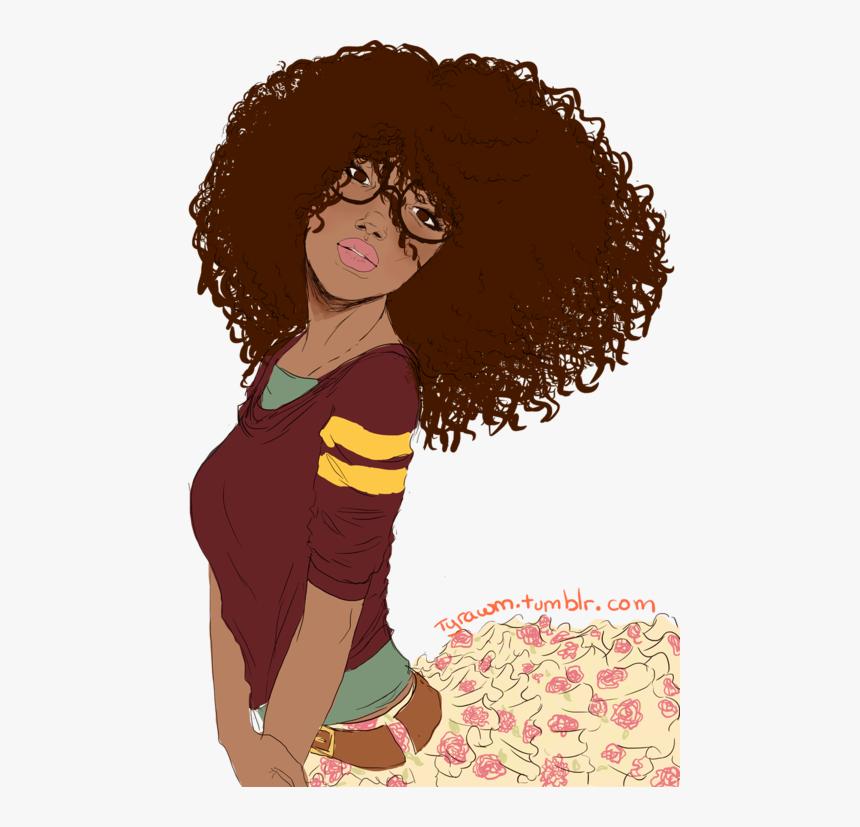 Girl Clipart Curly Hair.