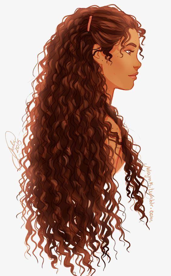 Curly Hair Girl in 2019.