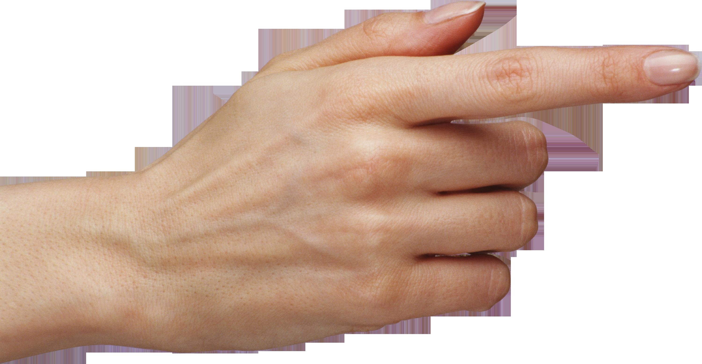 Download One Finger Hand Png Image.