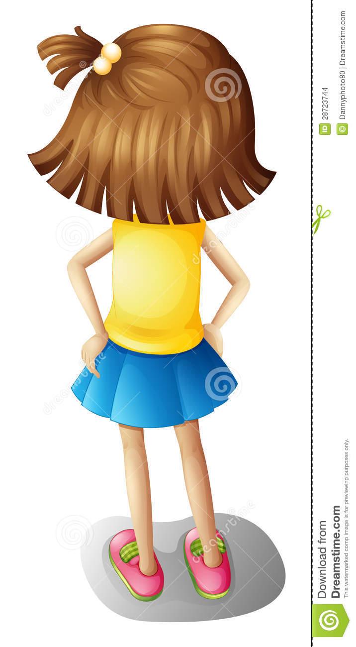 Back clipart back girl, Back back girl Transparent FREE for.