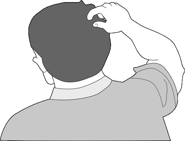 Free Cartoon Man Scratching Head, Download Free Clip Art.