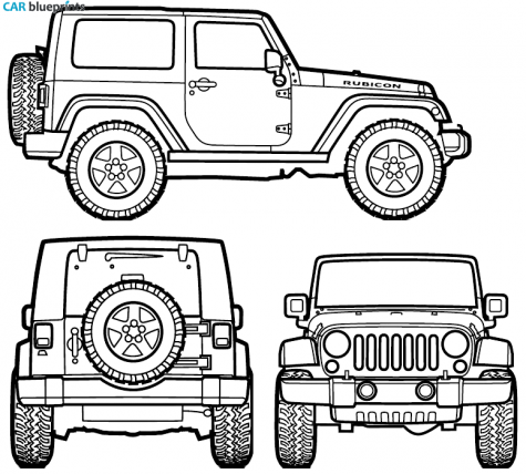 Free Jeep Wrangler Silhouette, Download Free Clip Art, Free.