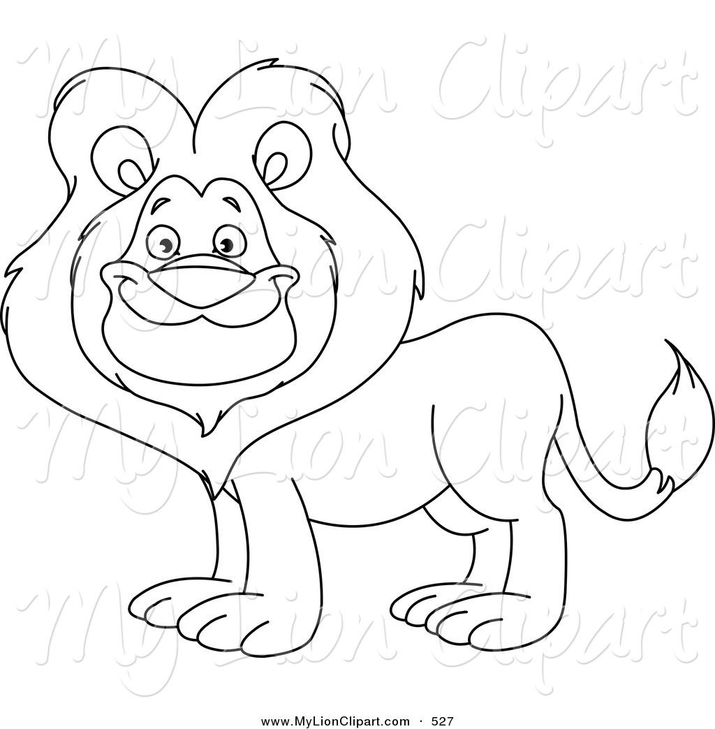 15980 Lion free clipart.