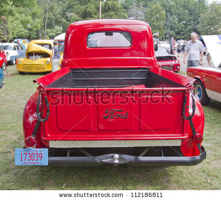 Old Pickup Truck Stock Images, Royalty.