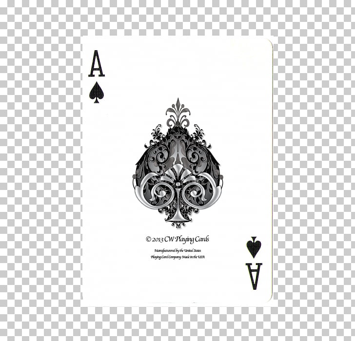 Ace of spades Playing card Hearts, Playing Card back PNG.