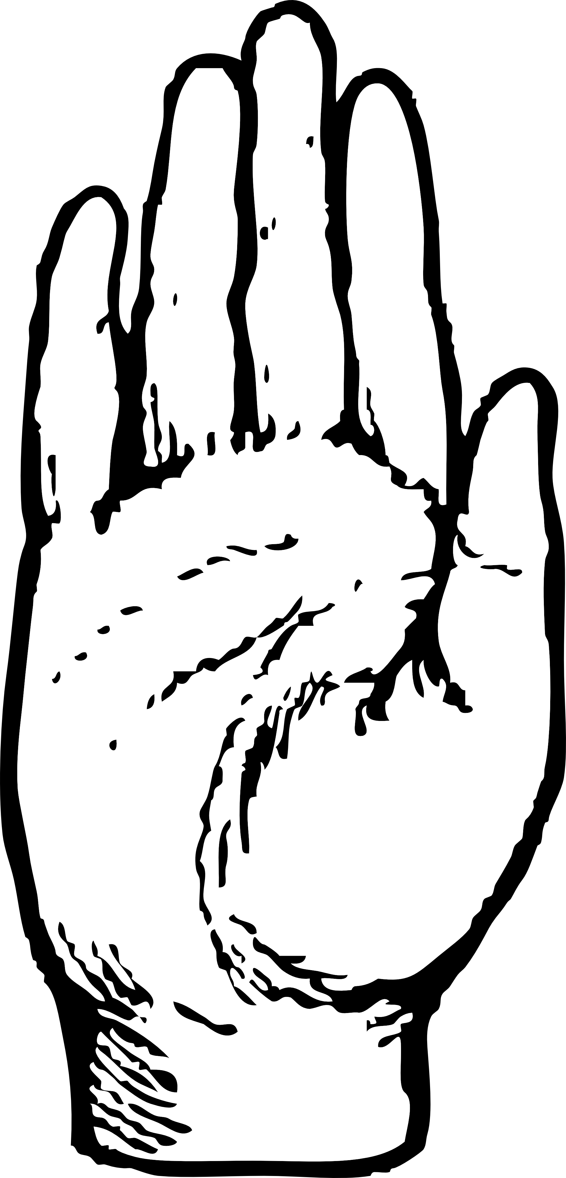 Free Hand Back Cliparts, Download Free Clip Art, Free Clip.