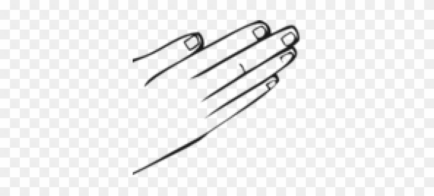 Right Clipart Back Hand.