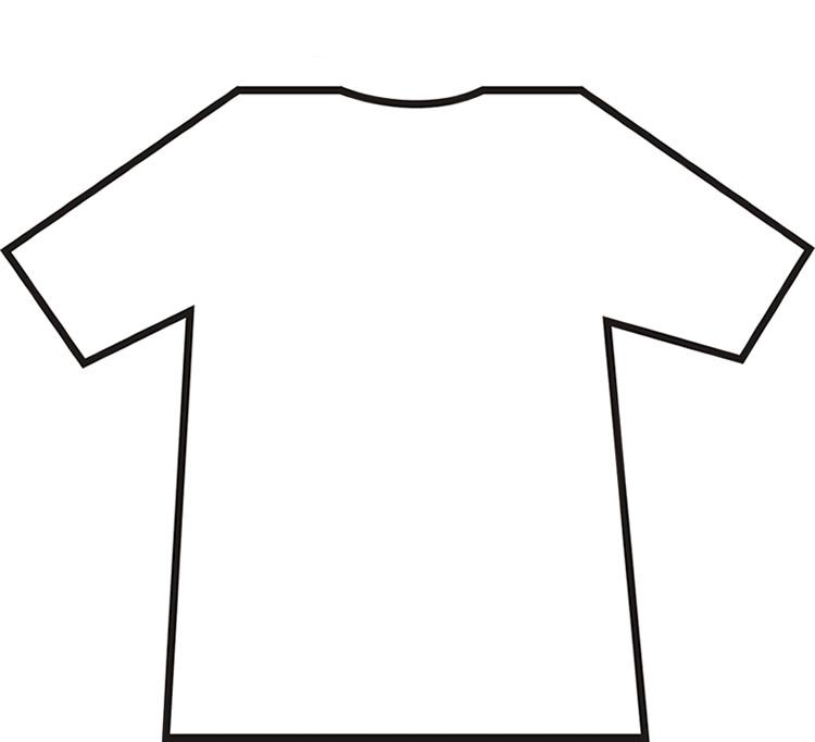 Blank T Shirt Printable.