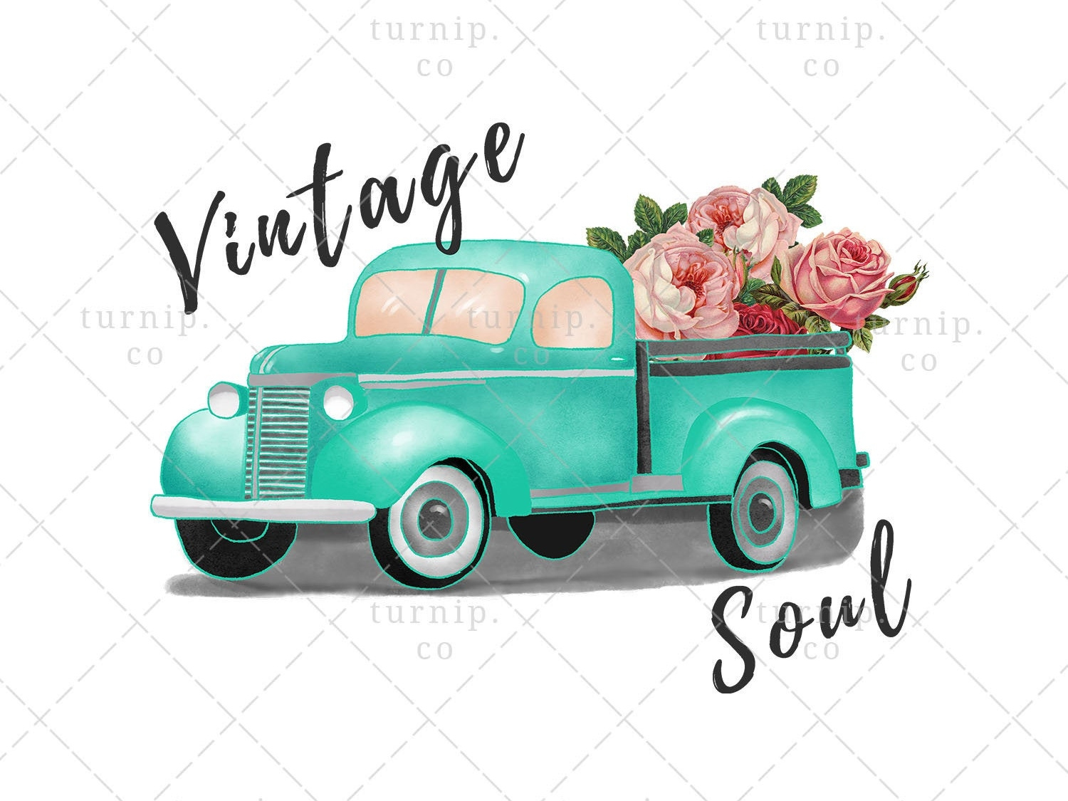 Vintage Soul Sublimation Clipart Graphic PNG by turnip on.