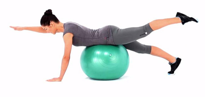 30 Swiss Ball Exercises For The Upper Body, Abs, Back, And.
