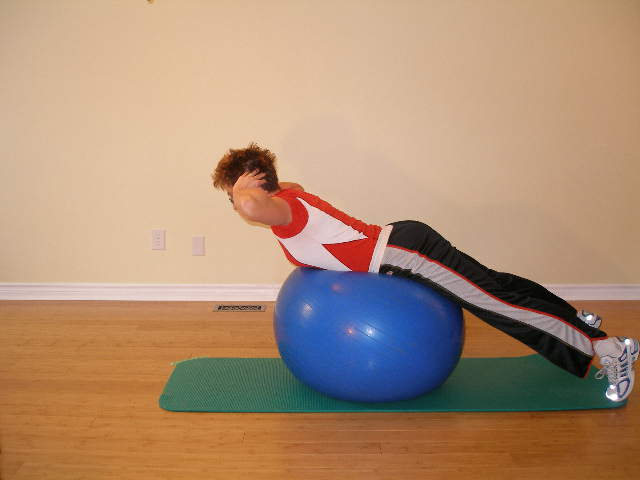 A Swim Workout Needs to Include Exercise Ball Exercises.