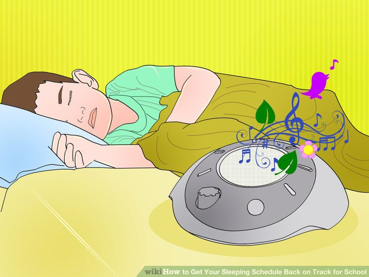 How to Get Your Sleeping Schedule Back on Track for School.