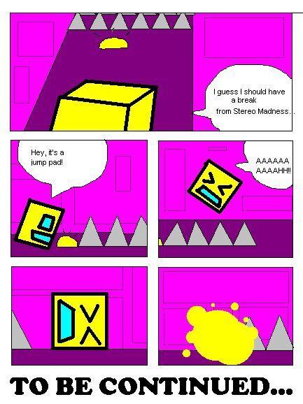 geometry dash comic.
