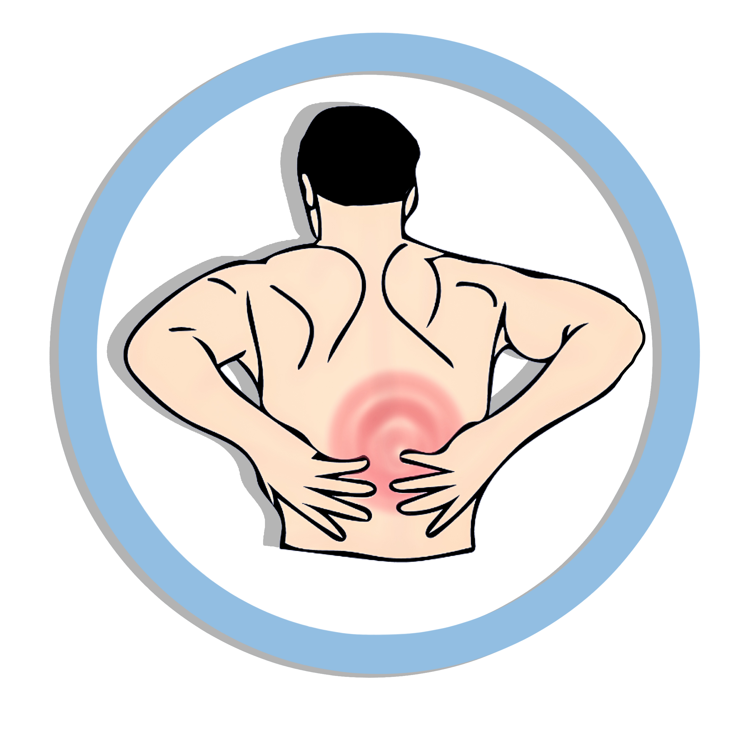Back clipart muscle pain, Picture #244768 back clipart.