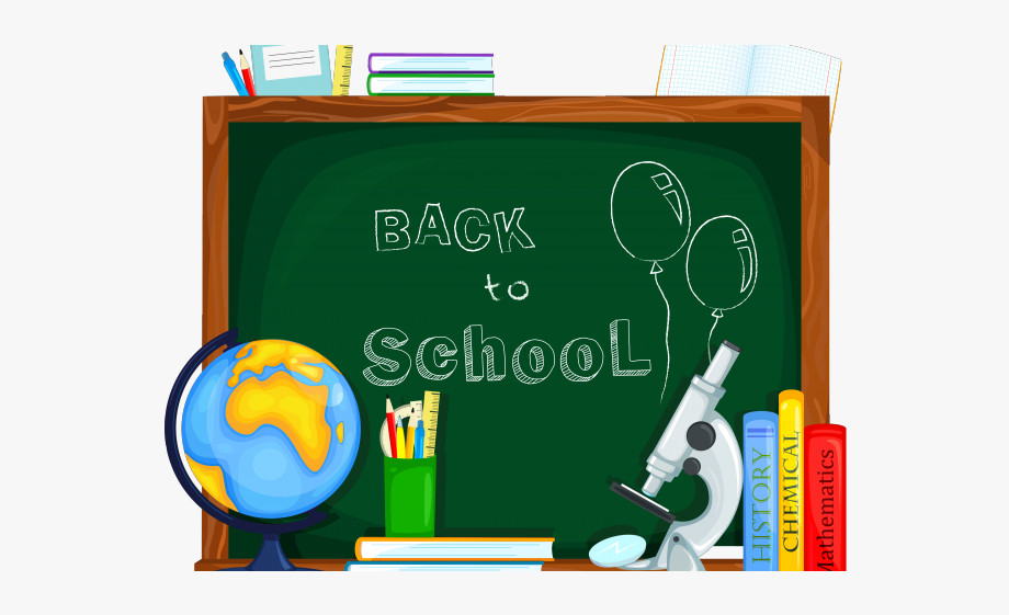 Back To School Clipart Sign.