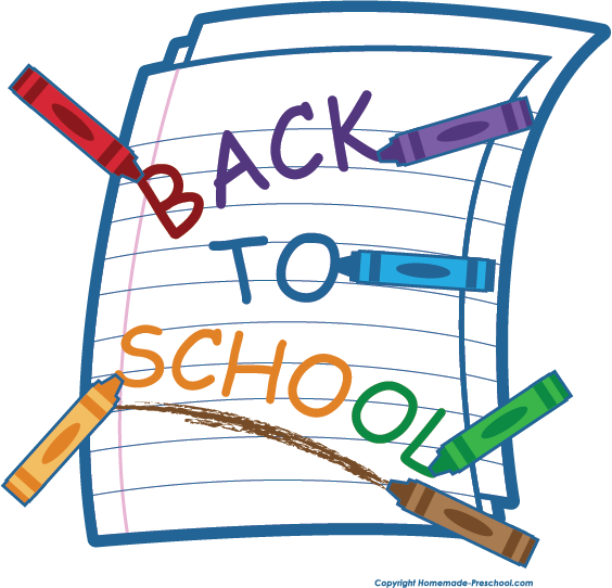 Free back to school clipart 4.