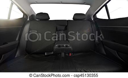 Wide back car seat.
