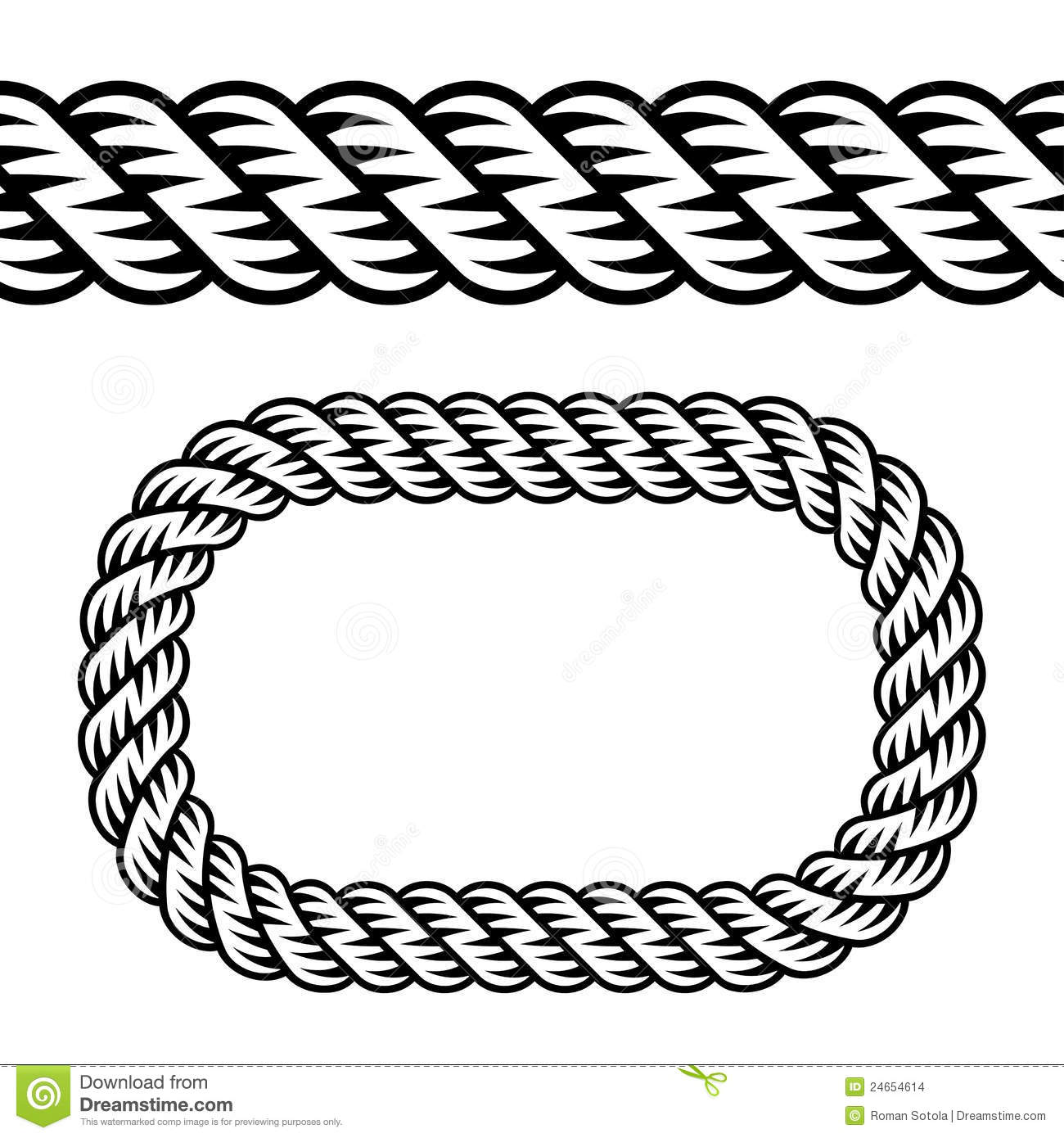 Back Gallery For Straight Rope Knot Clip Art #3Qn9eB.