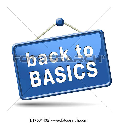 Clip Art of back to basics k17564402.