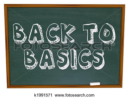 Clipart of Back to Basics.