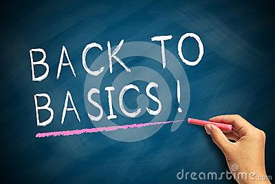 Back To Basics.
