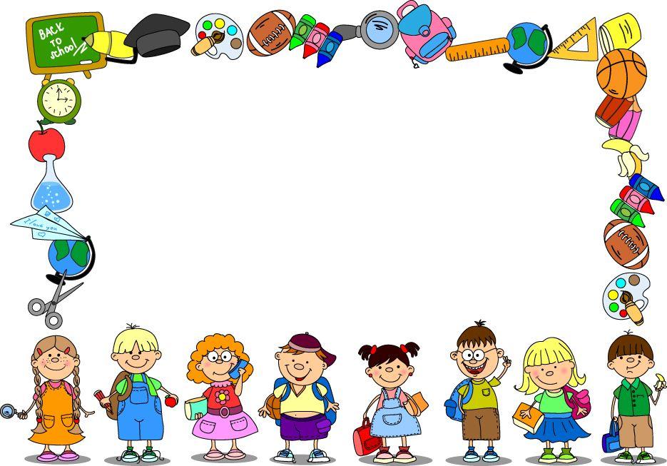 School backgrounds set 13 vector.