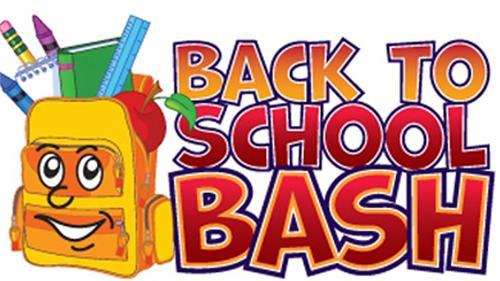 Back To School Bash~August 10th.