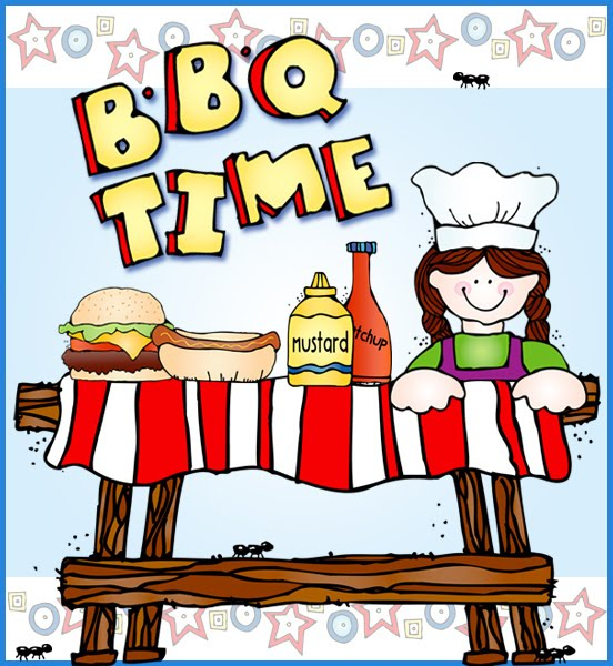 Back to school bbq clipart.