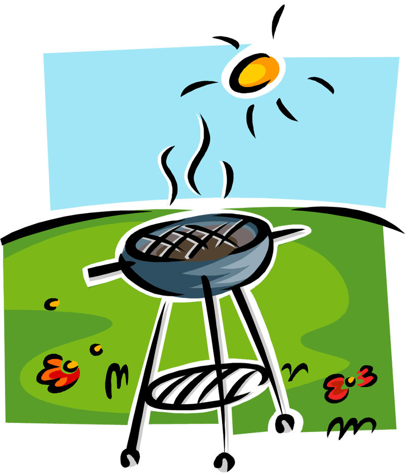Grilling clipart back to school, Grilling back to school.