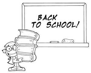 Student Clipart Image.