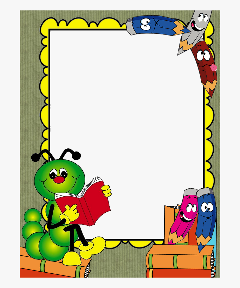 Borders For Paper, Borders And Frames, School Border.