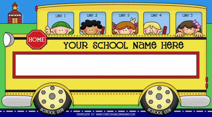 School bus clipart for kids clipartfest.