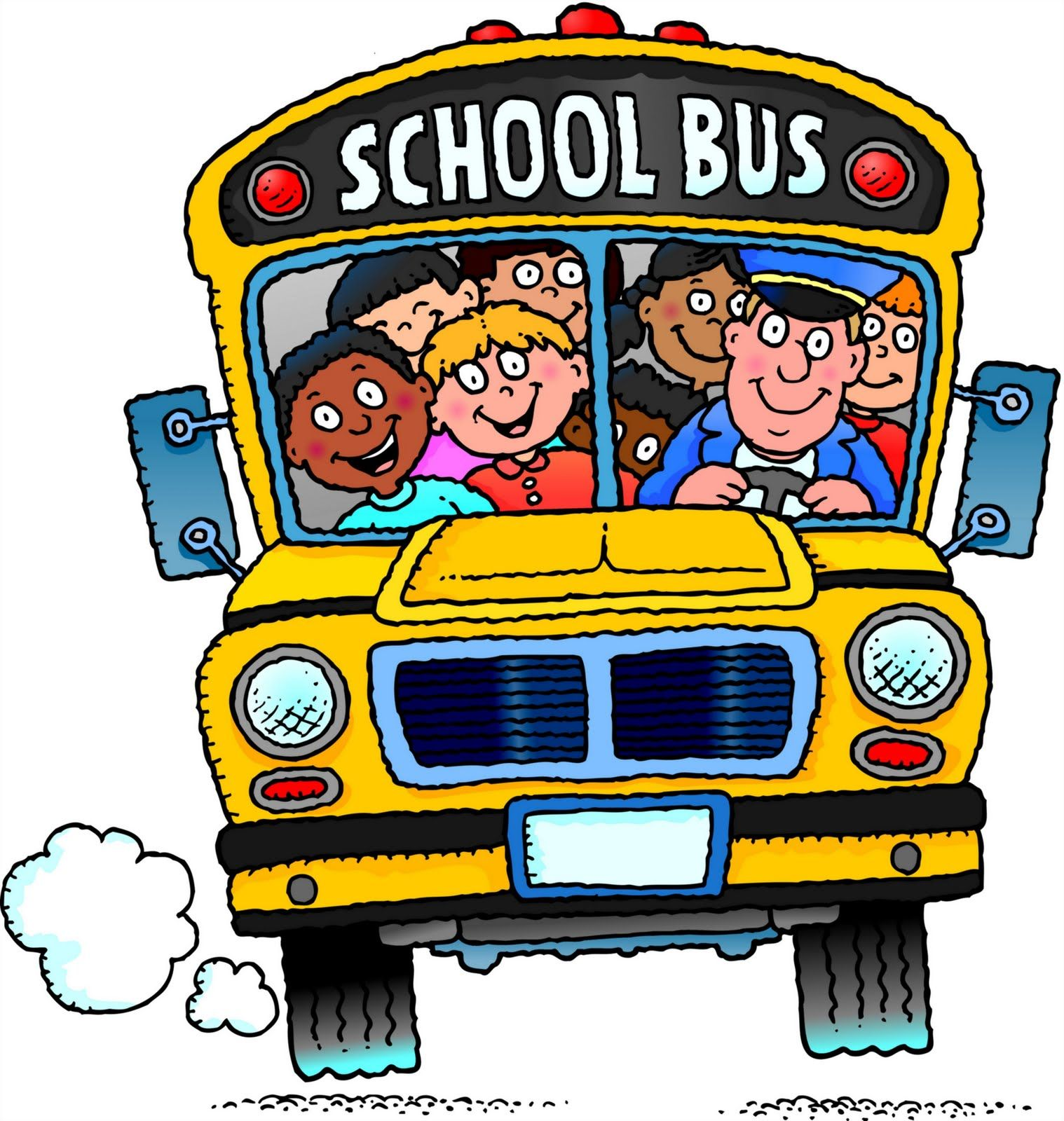 Free school bus clipart 7 5 Site has many school bus images.