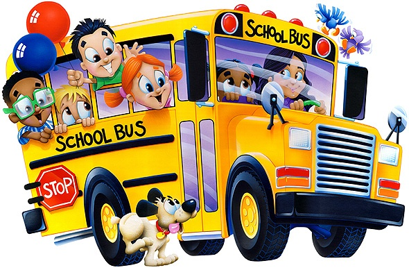 Back to school bus clipart.