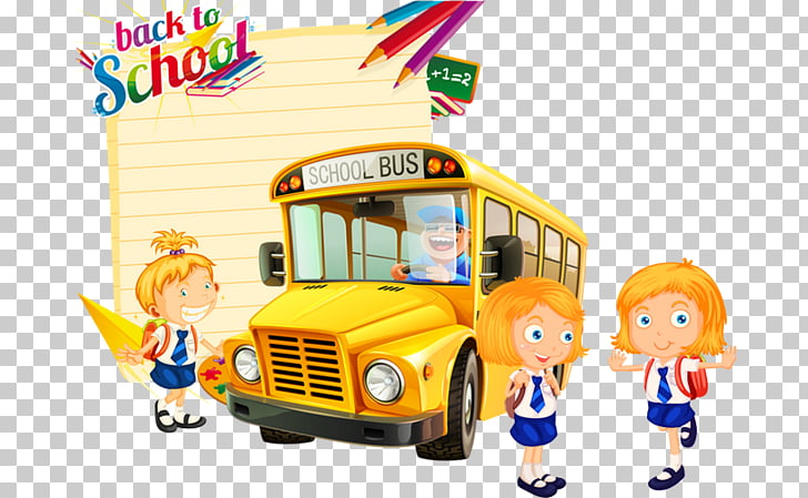 School bus Car School bus, Back To School, yellow school bus.