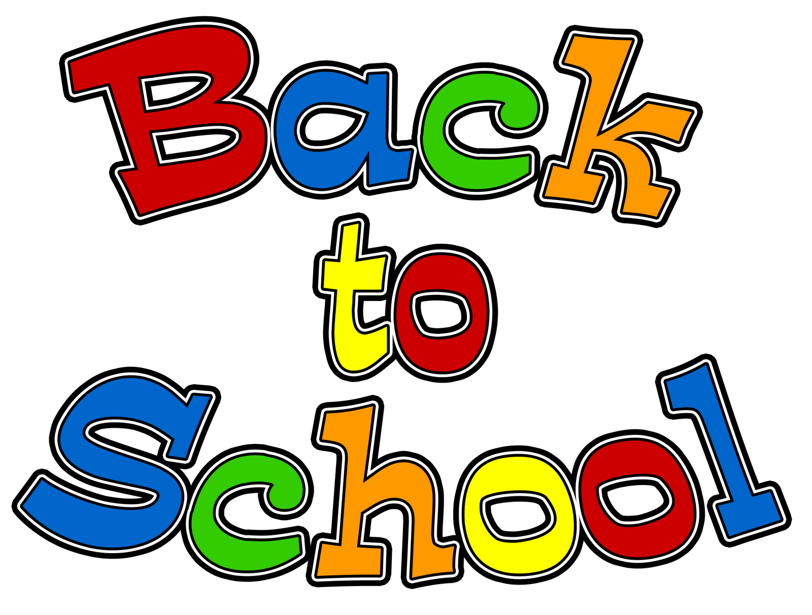 Back To School Children Clipart.