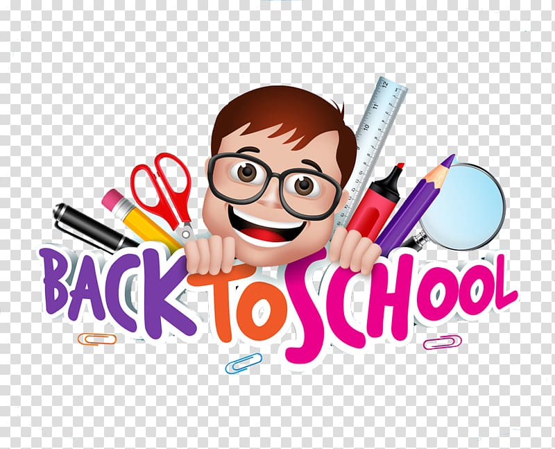 Back To School animated poster, Three.