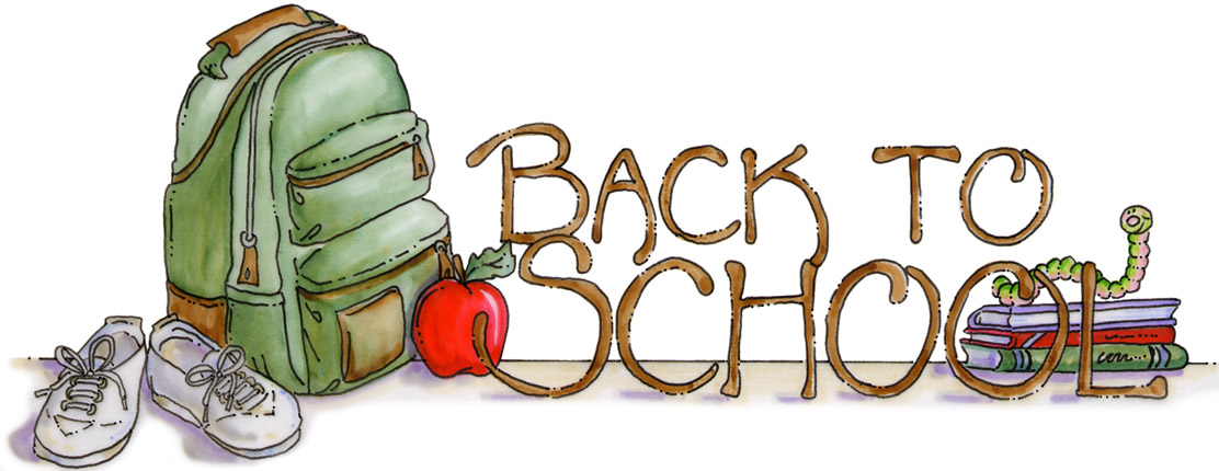 Christian back to school clipart.