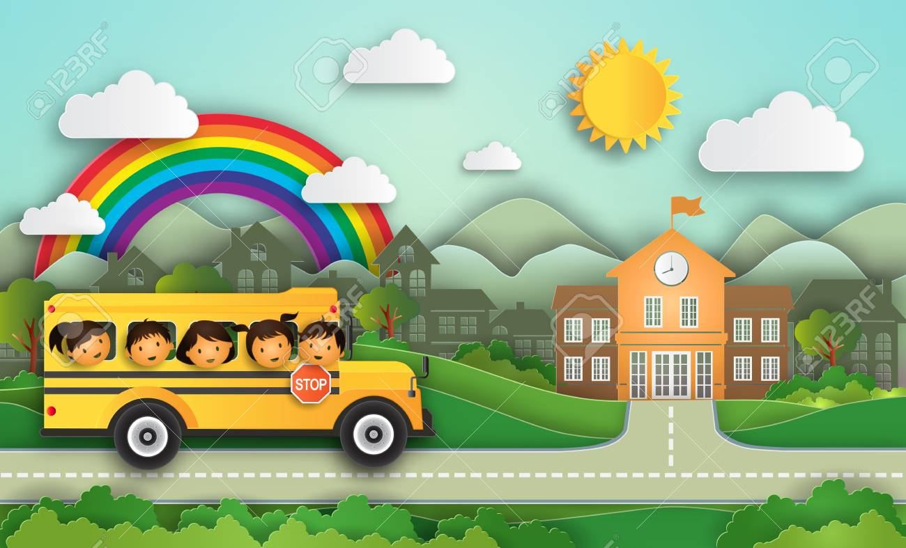 Illustration of Year 2018 Education concept welcome back to school!...