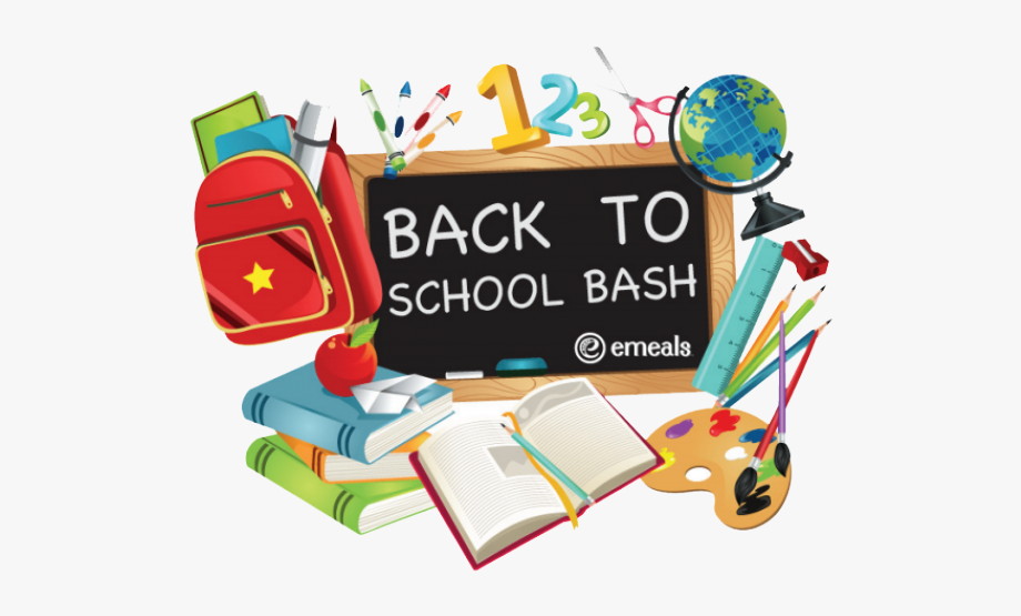 Back To School Clipart Transparent Background.