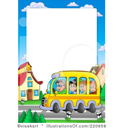 back to school clipart borders and frames #9