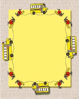 back to school clipart borders and frames #11