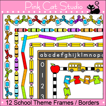 back to school clipart borders and frames #18