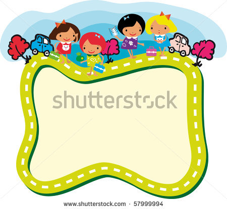 back to school clipart borders and frames #16