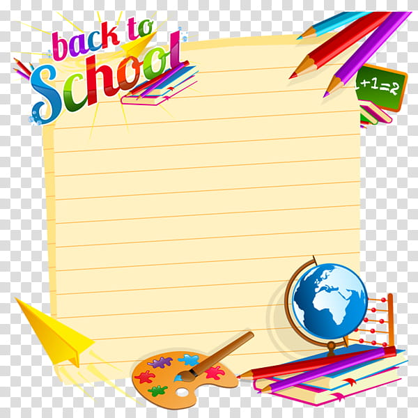 Welcome Back Cliparts transparent background PNG cliparts.