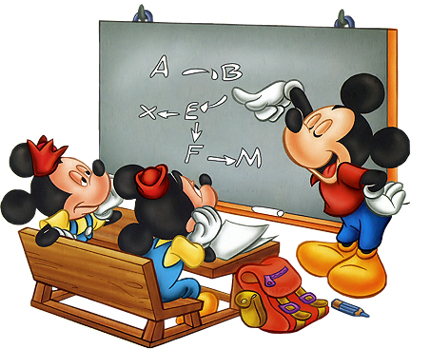 Disney Back To School Clipart.